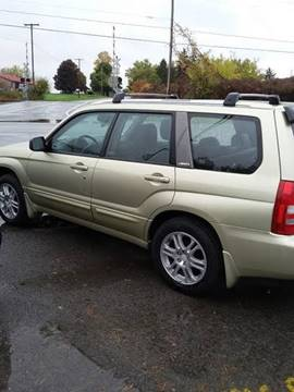 2004 Subaru Forester for sale at KEV'S GASPORT AUTO SALES AND SERVICE, INC in Gasport NY