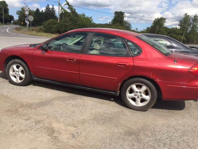 2001 Ford Taurus for sale at GASPORT AUTO SALES AND SERVICE,INC in Gasport NY