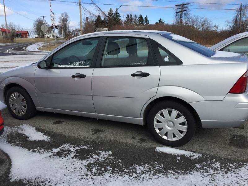 2006 Ford Focus for sale at GASPORT AUTO SALES AND SERVICE,INC in Gasport NY