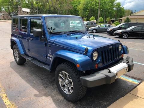 2009 Jeep Wrangler Unlimited for sale in Imlay City, MI
