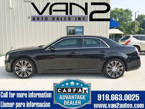 2012 Chrysler 300 for sale at Van 2 Auto Sales Inc. in Siler City NC