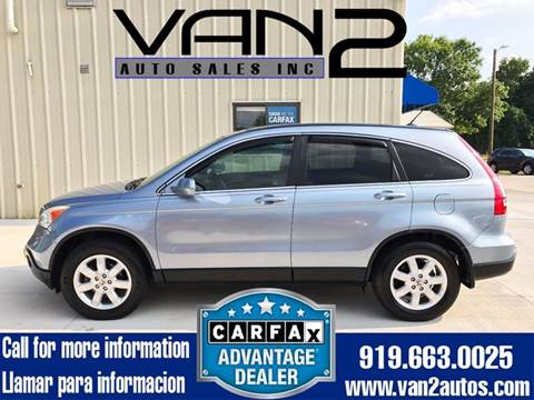 2008 Honda CR-V for sale at Van 2 Auto Sales Inc. in Siler City NC