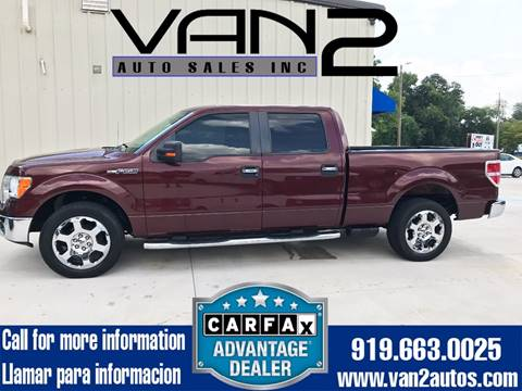 2009 Ford F-150 for sale at Van 2 Auto Sales Inc. in Siler City NC