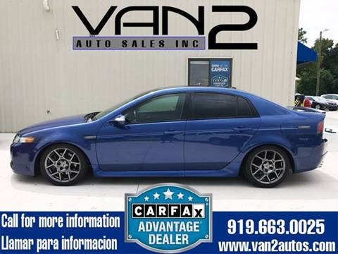 2007 Acura TL for sale at Van 2 Auto Sales Inc. in Siler City NC