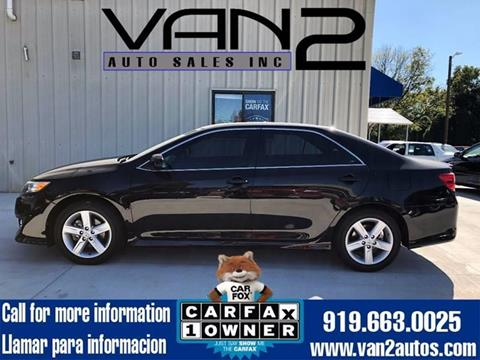 2014 Toyota Camry for sale at Van 2 Auto Sales Inc. in Siler City NC