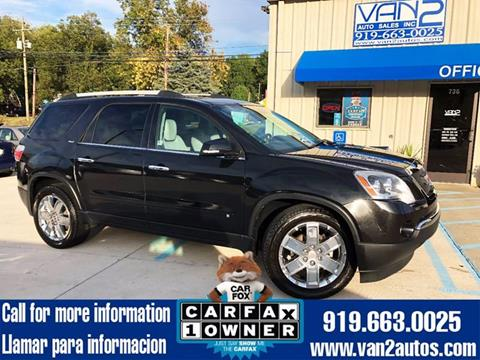2010 GMC Acadia for sale in Siler City, NC