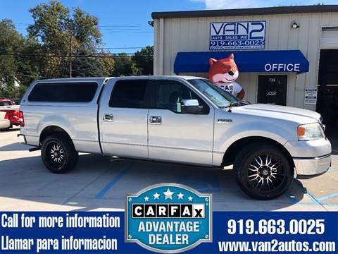 2007 Ford F-150 for sale at Van 2 Auto Sales Inc. in Siler City NC