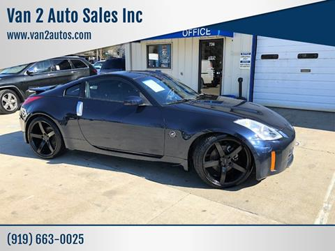 350Z For Sale Near Me >> 2008 Nissan 350z For Sale In Siler City Nc