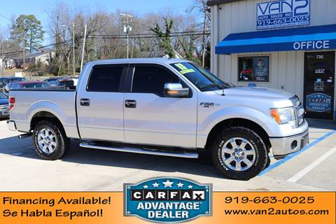 2013 Ford F-150 XLT for sale at Van 2 Auto Sales Inc in Siler City NC