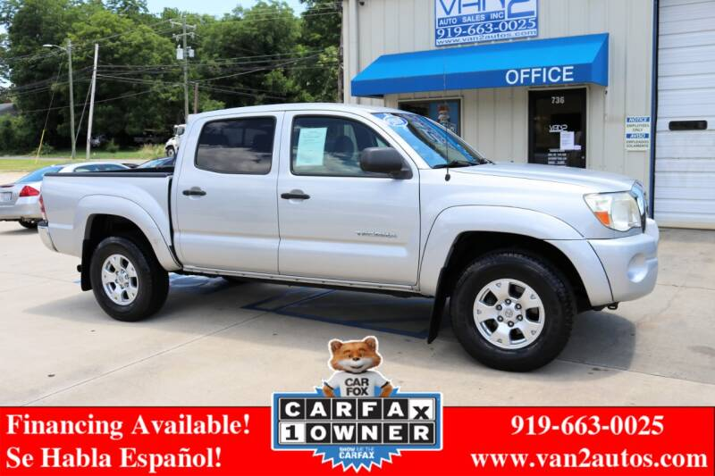 2010 Toyota Tacoma for sale at Van 2 Auto Sales Inc in Siler City NC