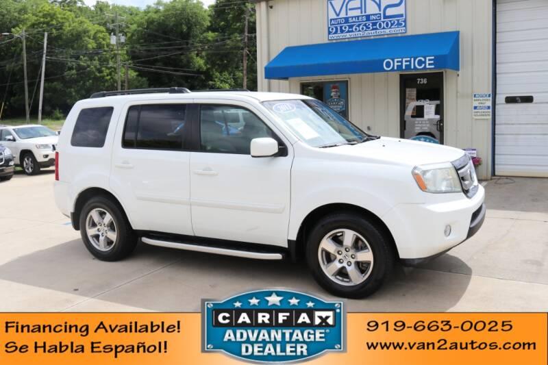 2011 Honda Pilot for sale at Van 2 Auto Sales Inc in Siler City NC