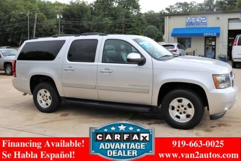 2014 Chevrolet Suburban for sale at Van 2 Auto Sales Inc in Siler City NC