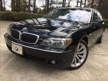 2008 BMW 7 Series for sale at Selective Imports Auto Sales - Second Lot in Woodstock GA