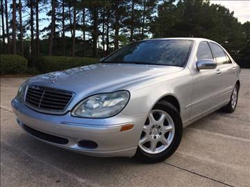 2001 Mercedes-Benz S-Class for sale at Selective Imports - Second Lot in Woodstock GA