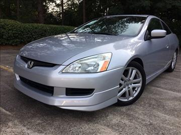 2004 Honda Accord for sale at Selective Imports - Second Lot in Woodstock GA
