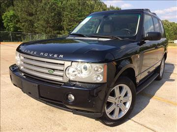 2008 Land Rover Range Rover for sale at Selective Imports - Second Lot in Woodstock GA