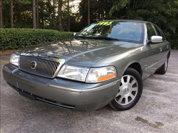 2003 Mercury Grand Marquis for sale at Selective Imports - Second Lot in Woodstock GA
