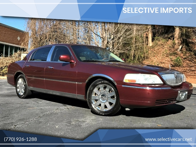 2004 Lincoln Town Car Ultimate In Woodstock Ga Selective Imports