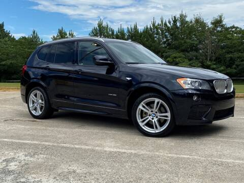 2014 BMW X3 for sale at Selective Cars & Trucks in Woodstock GA