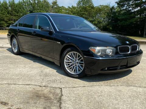 2004 BMW 7 Series for sale at Selective Cars & Trucks in Woodstock GA
