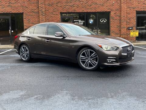 2014 Infiniti Q50 for sale at Selective Cars & Trucks - Selective Imports 2 in Woodstock GA
