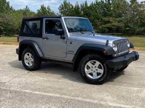 2015 Jeep Wrangler for sale at Selective Cars & Trucks in Woodstock GA