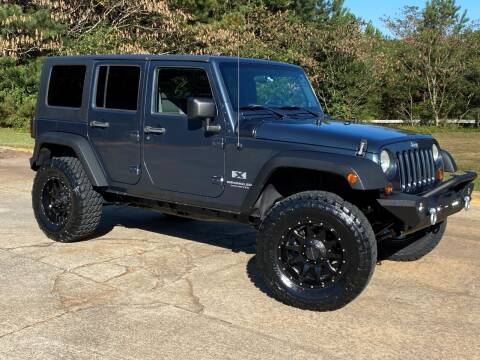 2007 Jeep Wrangler Unlimited for sale at Selective Cars & Trucks in Woodstock GA