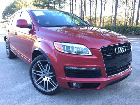 2008 Audi Q7 for sale at Selective Cars - Second Lot in Woodstock GA