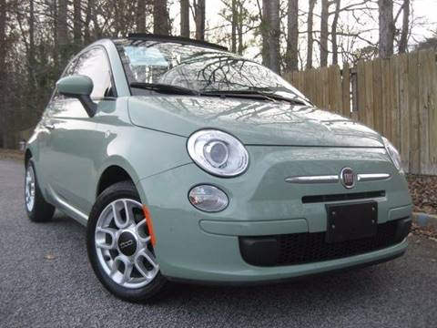 2012 FIAT 500c for sale at Selective Cars in Woodstock GA