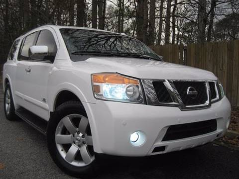 2009 Nissan Armada for sale at Selective Cars in Woodstock GA