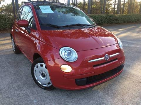 2012 FIAT 500 for sale at Selective Cars - Second Lot in Woodstock GA