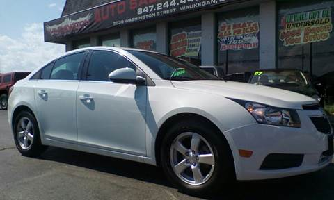 2013 Chevrolet Cruze for sale at Washington Auto Group in Waukegan IL