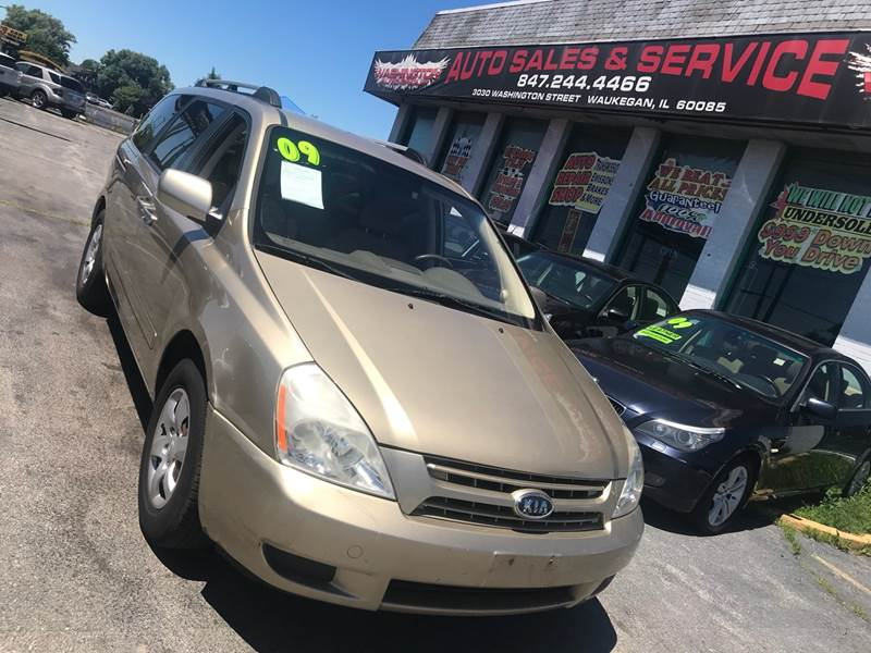 2009 Kia Sedona for sale at Washington Auto Group in Waukegan IL