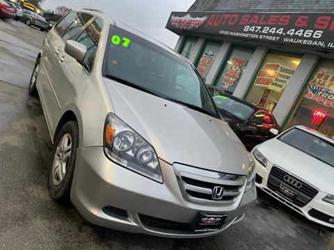 2007 Honda Odyssey for sale at Washington Auto Group in Waukegan IL