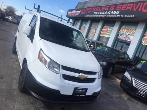 2017 Chevrolet City Express Cargo for sale at Washington Auto Group in Waukegan IL