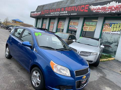 2009 Pontiac G3 for sale at Washington Auto Group in Waukegan IL