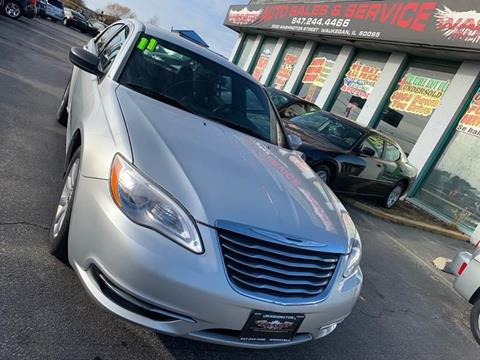 2011 Chrysler 200 for sale at Washington Auto Group in Waukegan IL