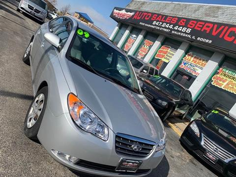 2009 Hyundai Elantra for sale at Washington Auto Group in Waukegan IL