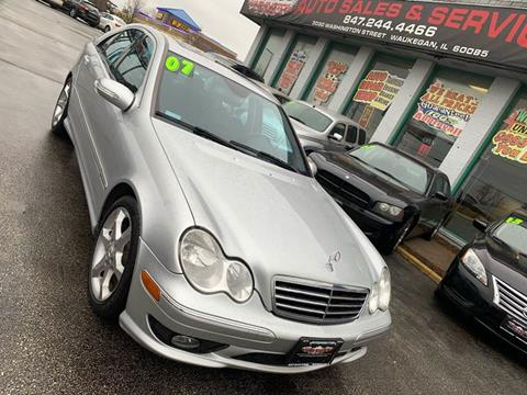 2007 Mercedes-Benz C-Class for sale at Washington Auto Group in Waukegan IL