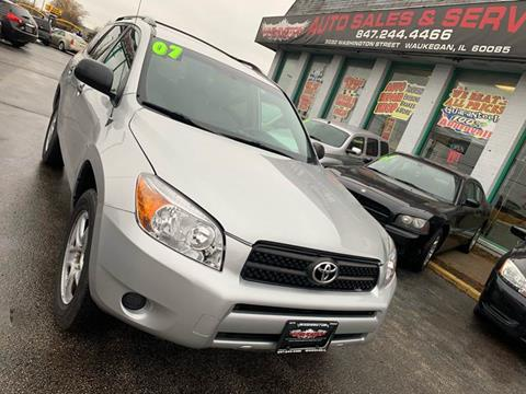 2007 Toyota RAV4 for sale at Washington Auto Group in Waukegan IL