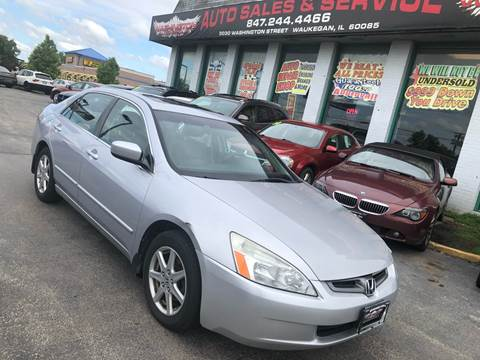 2003 Honda Accord for sale at Washington Auto Group in Waukegan IL