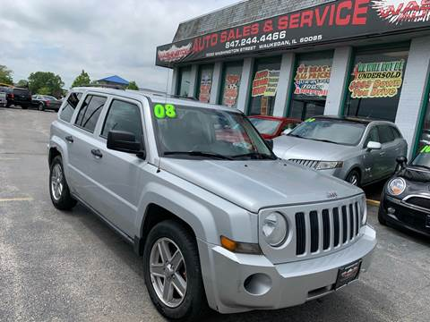 2008 Jeep Patriot for sale at Washington Auto Group in Waukegan IL