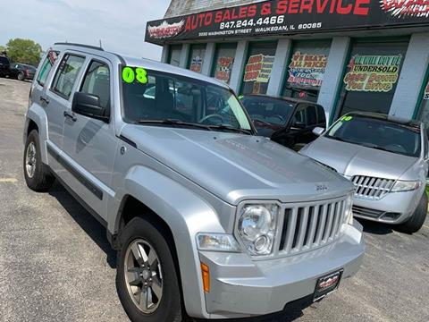 2008 Jeep Liberty for sale at Washington Auto Group in Waukegan IL