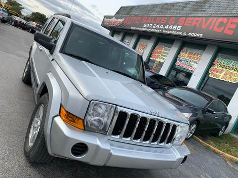 2007 Jeep Commander for sale at Washington Auto Group in Waukegan IL
