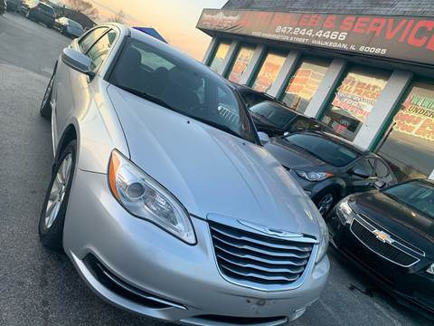 2011 Chrysler 200 for sale in Waukegan, IL