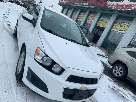 2014 Chevrolet Sonic for sale at Washington Auto Group in Waukegan IL