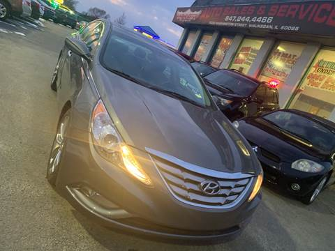 2011 Hyundai Sonata for sale at Washington Auto Group in Waukegan IL