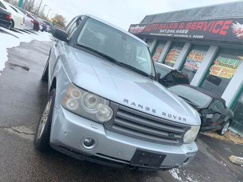 2006 Land Rover Range Rover for sale at Washington Auto Group in Waukegan IL