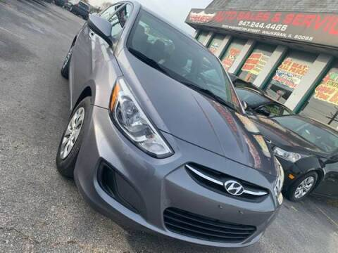2017 Hyundai Accent for sale at Washington Auto Group in Waukegan IL