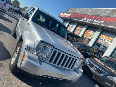 2012 Jeep Liberty for sale at Washington Auto Group in Waukegan IL
